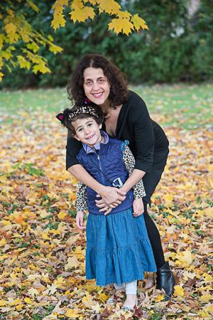 Hugging my daughter in my LBD