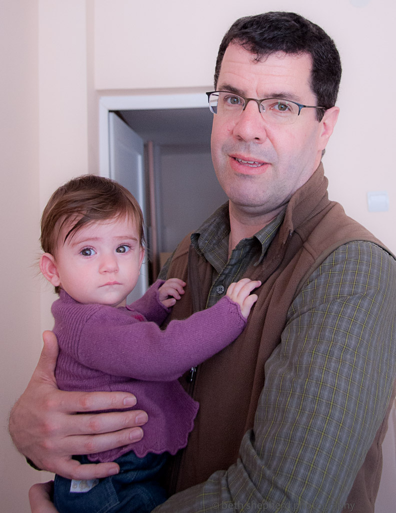 First day as a dad in Armenia