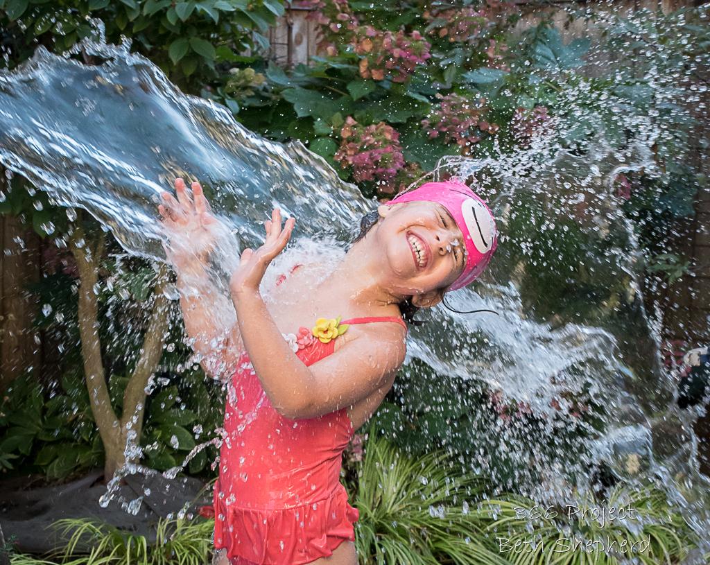 daughter splash