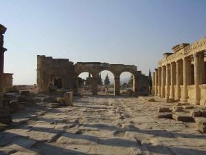 Hierapolis, den nordlige port