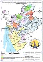 PAMUSAB>>CARTOGRAPHIE DES MUTUELLES COMMUNAUTAIRES DE SANTE AU BURUNDI