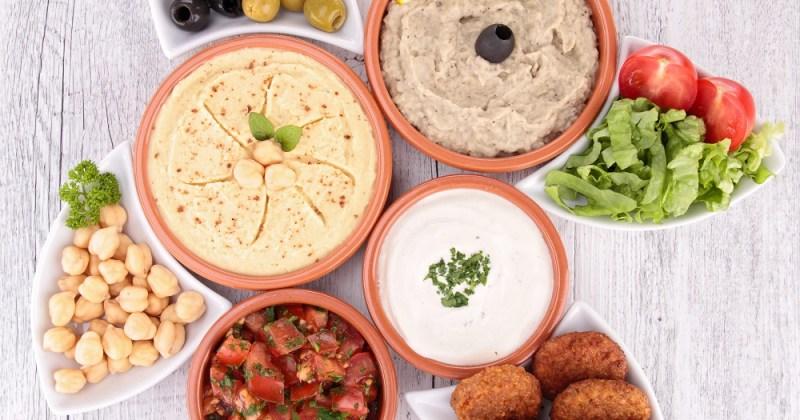 Kikerter: Hummus av kikerter sunt og proteinrikt