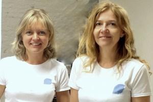 Nina Johansen og Tanja Kalchenko på Vegetarfestivalen i Halden