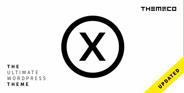 the x wordpress theme