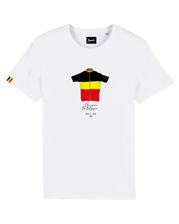 WVA BK t shirt wit truitje packshot