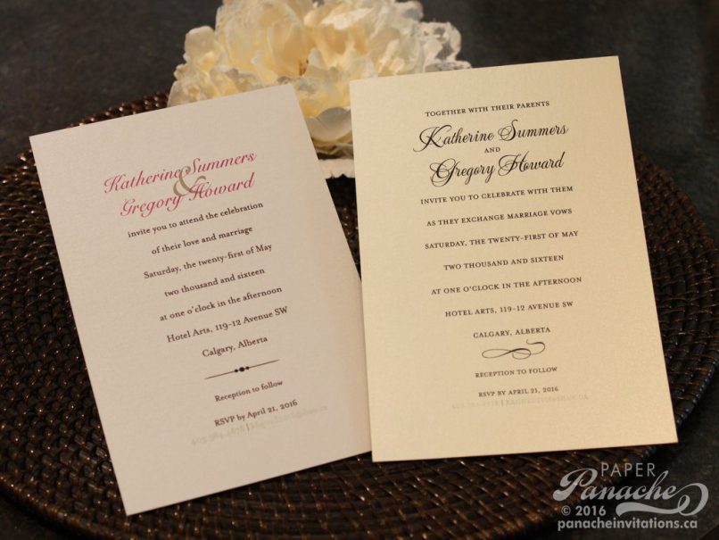 Perth Wedding Invitations Cheap   Inviview.co