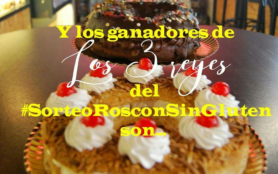 Ganadores del Sorteo Roscón Sin Gluten #SORTEOROSCONSINGLUTEN