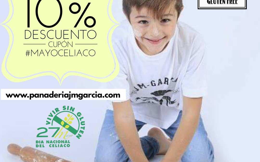 Cupón #MayoCelíaco -10% Descuento