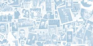 Photos of family members who are deceased