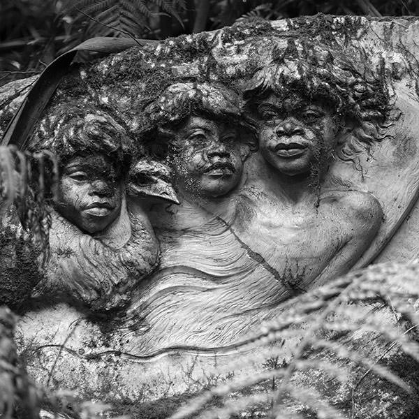 Sculpture at the William Ricketts Sanctuary in the Dandenongs