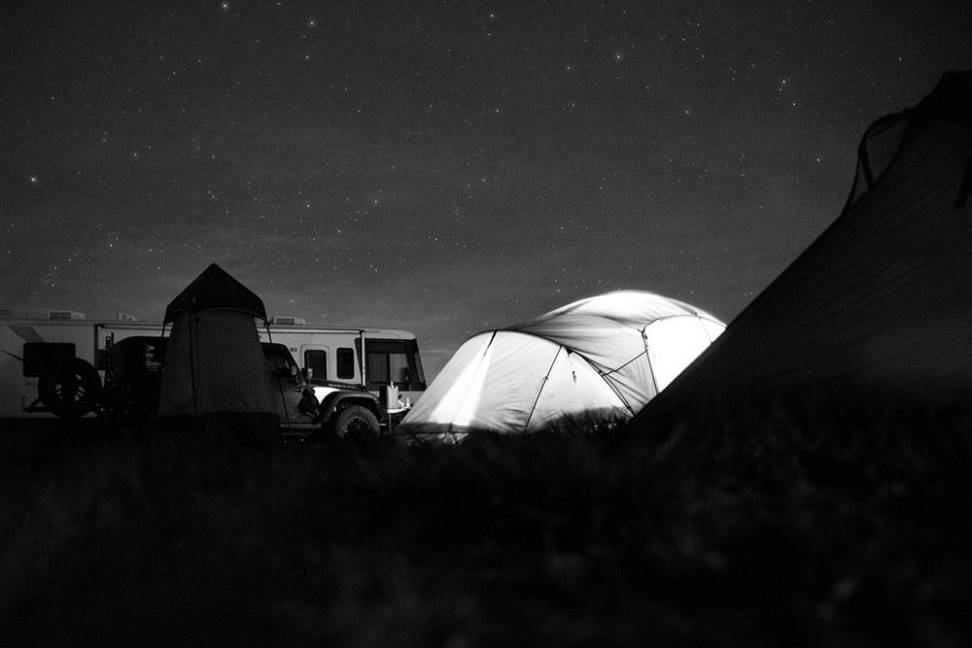 Campers at Overland Expo 2014