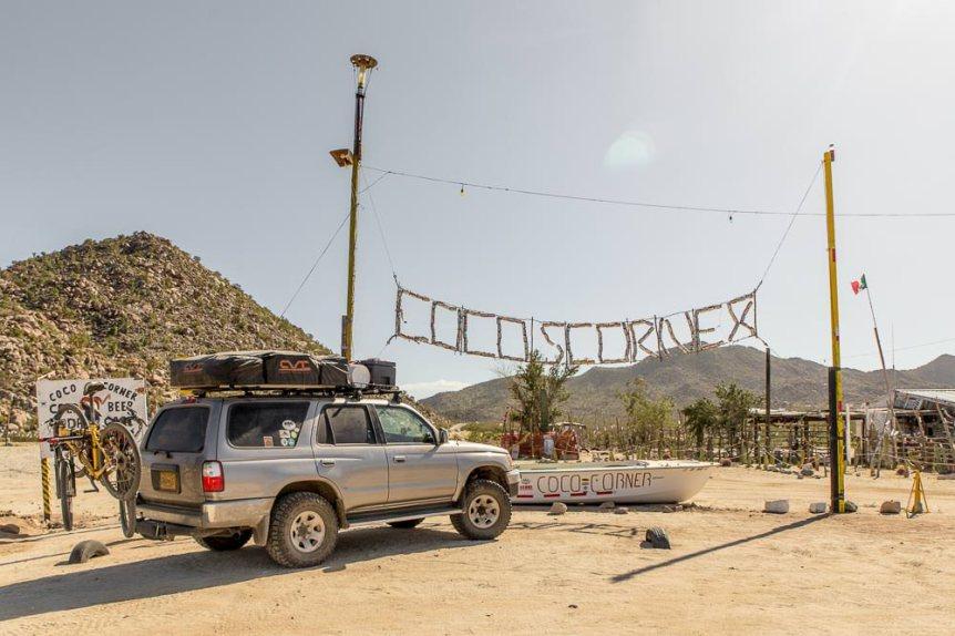 Coco's Corner, Baja