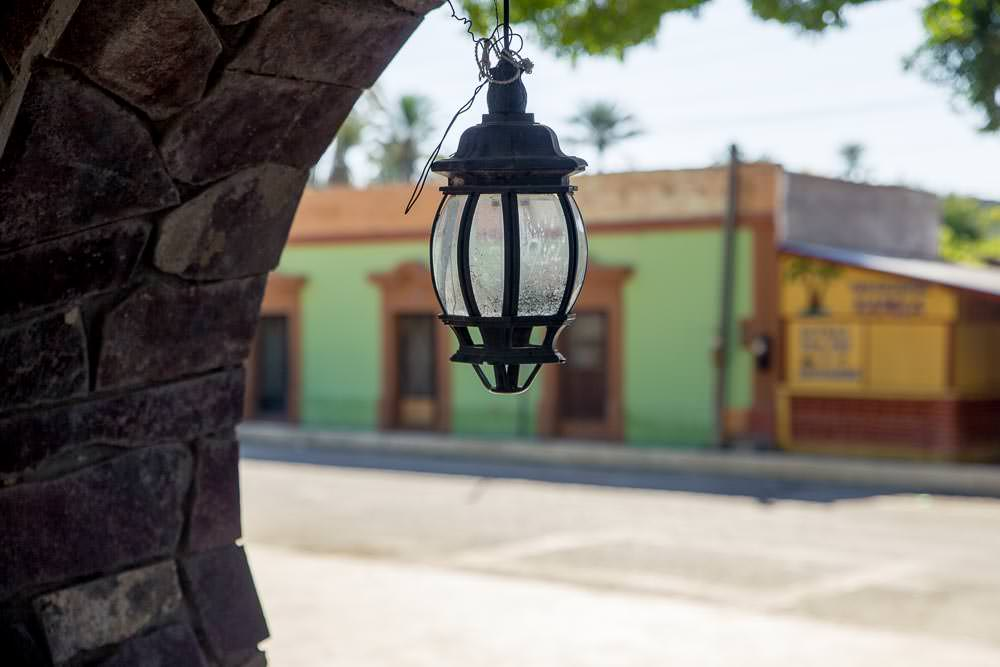 Central plaza, San Ignacio, Baja California Sur