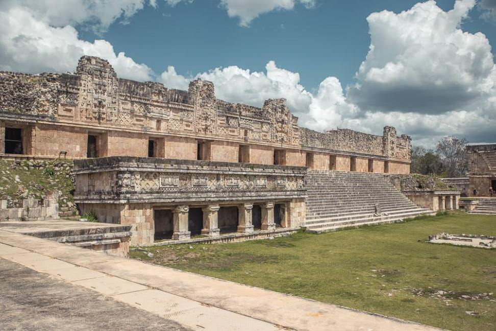 Standing in the middle of this huge open plaza really helps you appreciate how intimidating the ancient Mayan approach to architecture was.