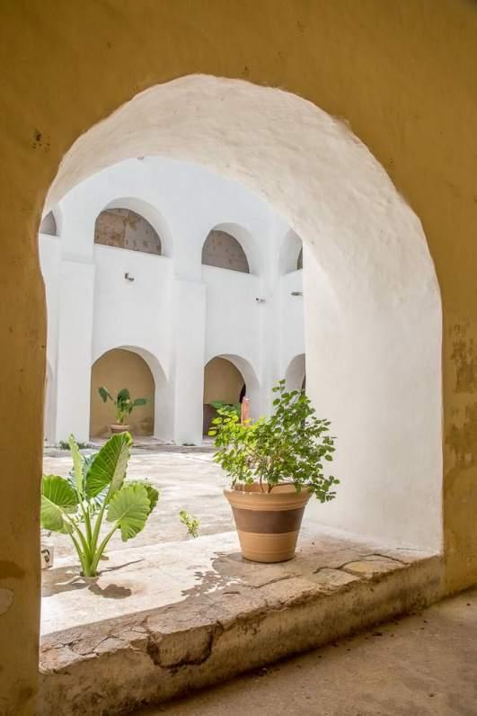 Peaceful interior sanctuary.