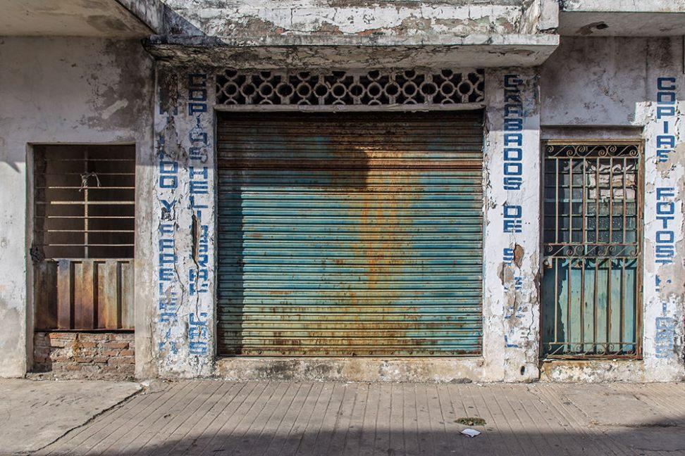 Garage door, Mazatlán.