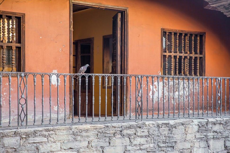 A peaceful balcony.