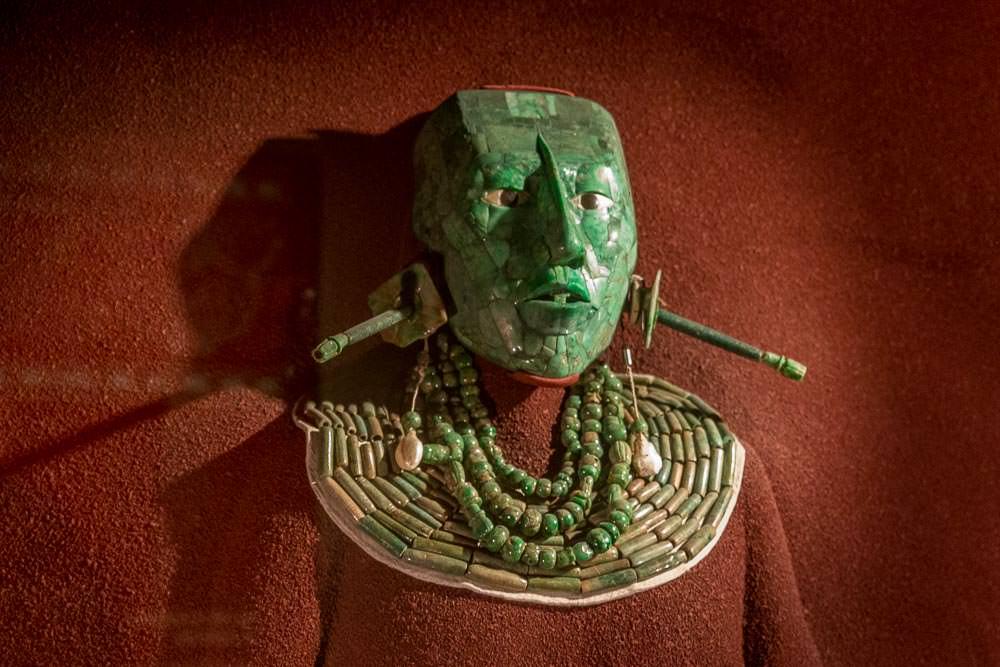 Funerary mask of K'inich Janaab' Pakal