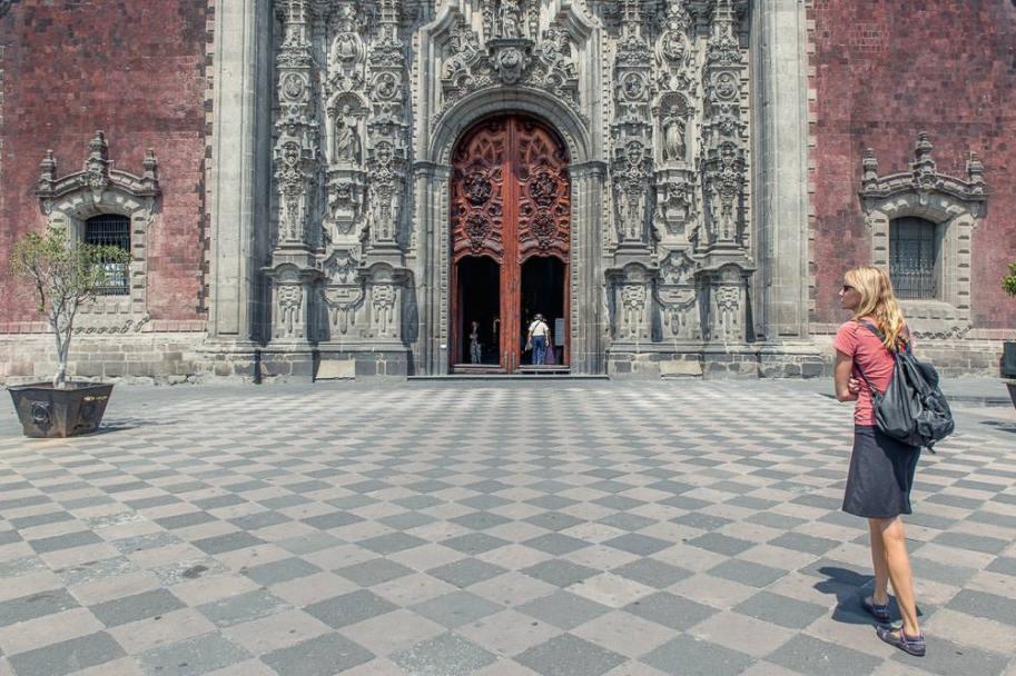 Mexico City Metropolitan Cathedral.
