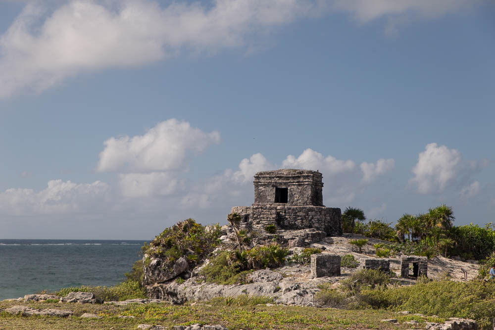 Tulum, ruins famous mostly for their beach side location.