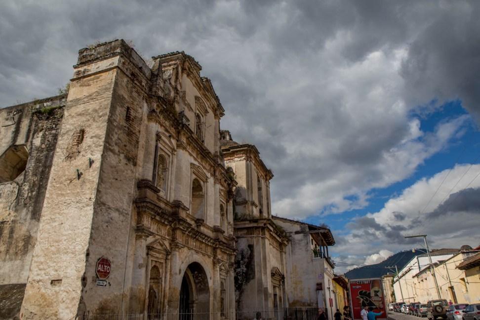 Crumbling facade, Antigua Guatmala