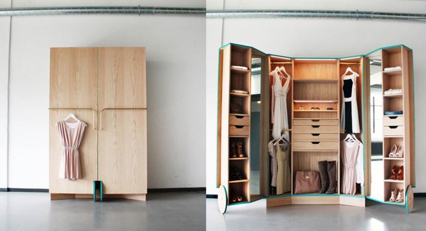 armario en walking closet