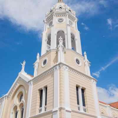 Iglesia San Francisco de Asís, el punto más alto del Casco Viejo