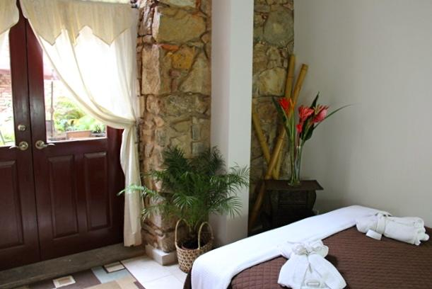 Rooms at Casa Sucre Boutique Hotel are on the second floor and have balcony access