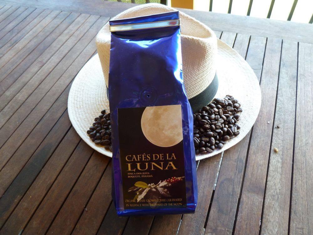 Cafés de la Luna is sold at Casa Sucre Coffeehouse
