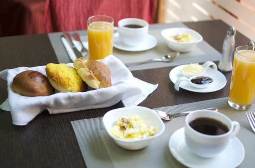 breakfast of Gatto Blanco Party Hotel