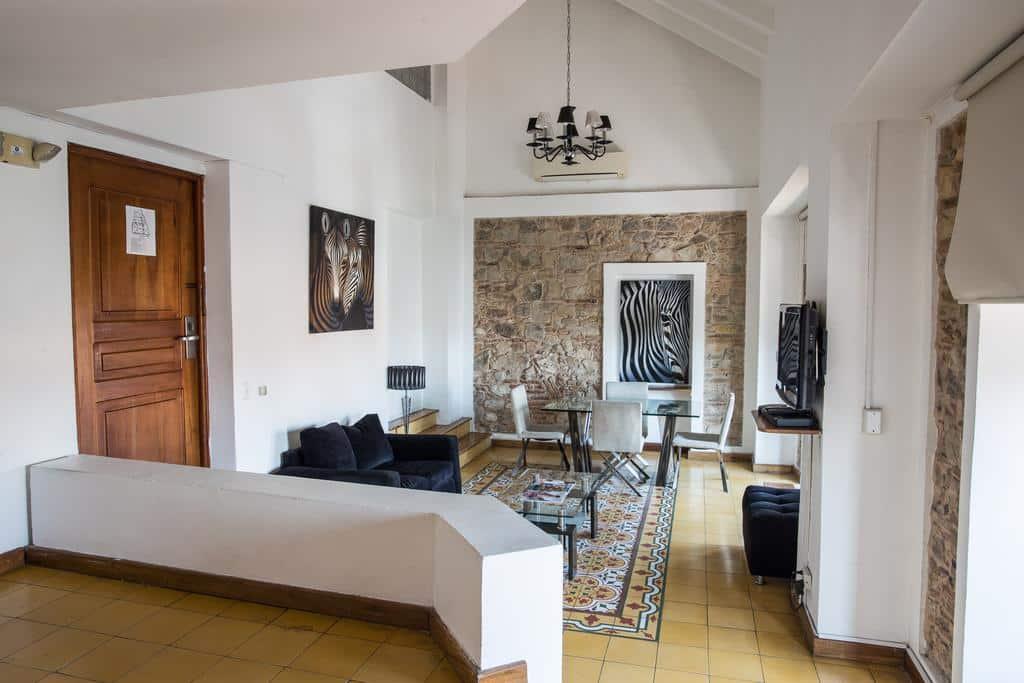Chagres suite has more modern decor at Casa Antigua Hotel