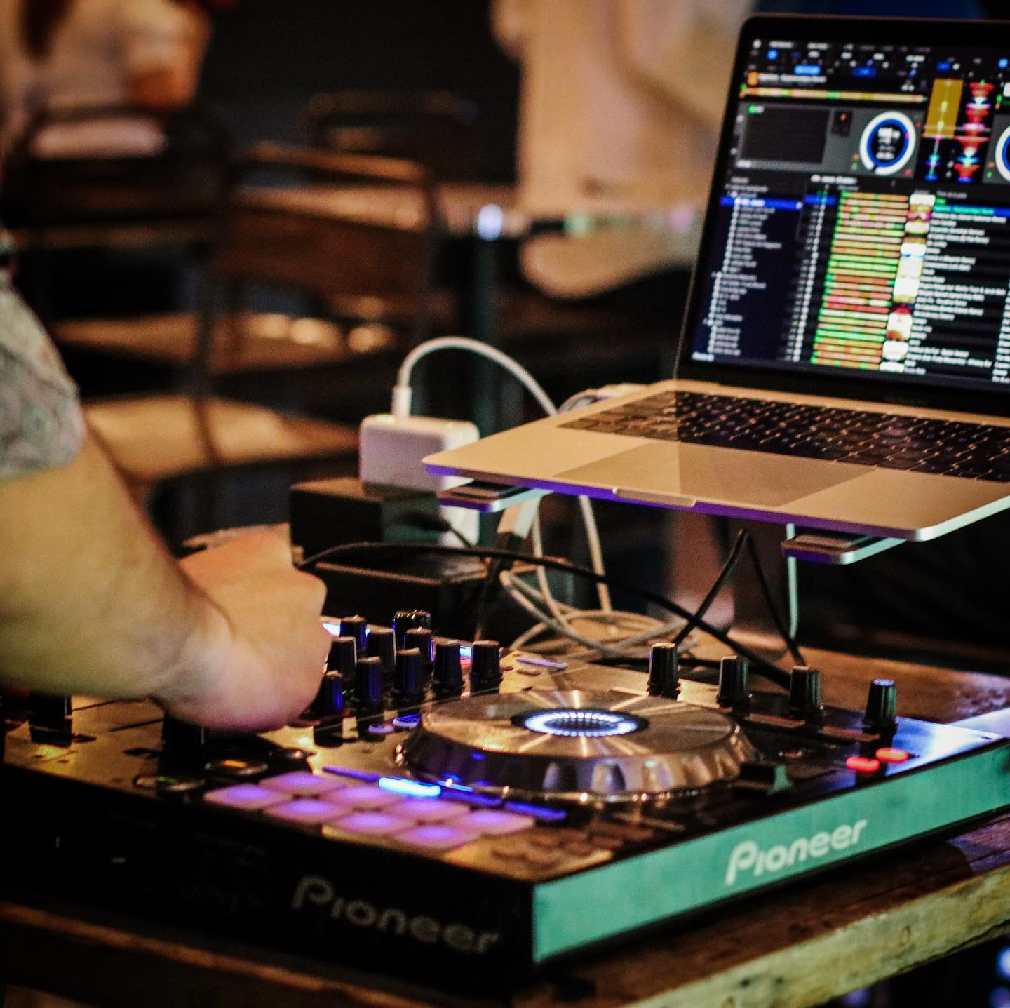Usually there is a live DJ playing at Lazotea Restaurant and Rooftop