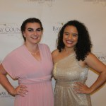 Attendees enjoy Annual Dinner and Awards Ceremony. — with Melissa Lupton and Sarina Di Calogero.