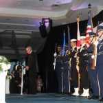 Bay County Chamber of Commerce Page Liked · Yesterday · Joint Forces Honor Guard posts colors during 2018 Annual Dinner and Awards Ceremony.