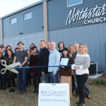 Chamber ambassadors gather to celebrate the grand opening of Northstar Church.