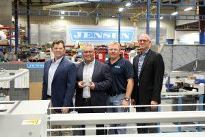 JENSEN USA receives IAC Award for Export Excellence.