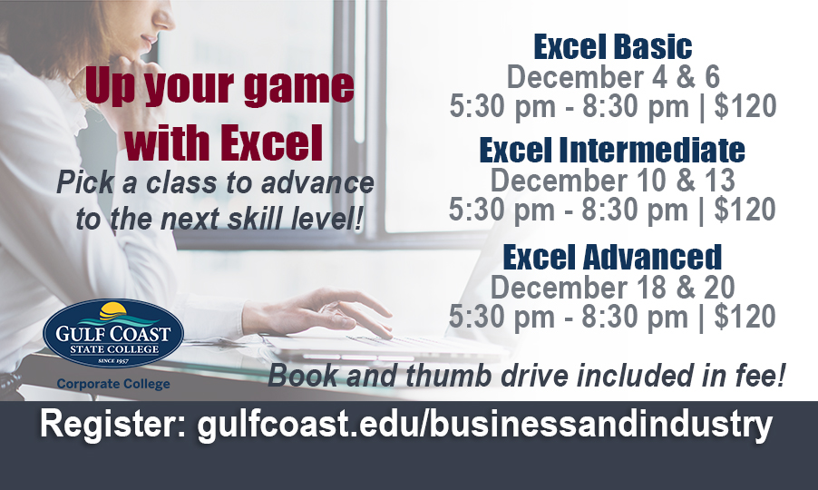 Excel Basic - Bay County Chamber of Commerce