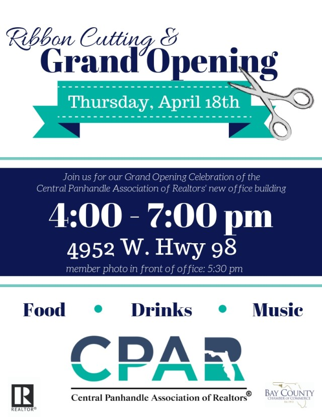Central Panhandle Association of Realtors Ribbon Cutting & Grand Opening