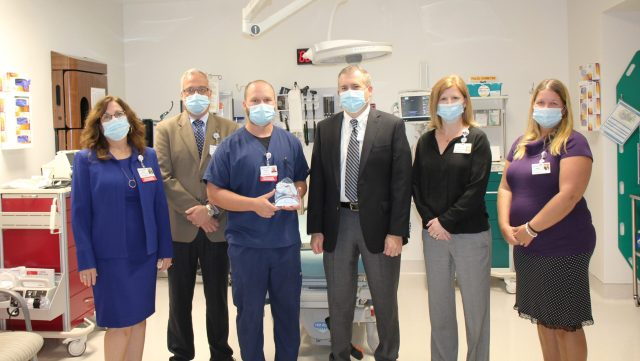 Gulf Coast Regional Medical Center staff accept IAC Business Expansion Award