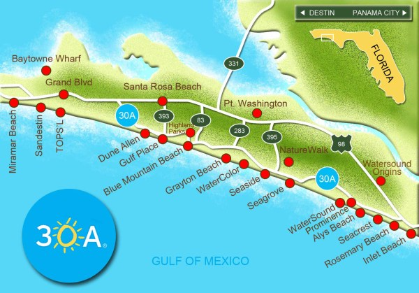 30A Map