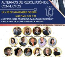 EXPOSITORES – Jornada sobre medios alternos de resolución de conflictos