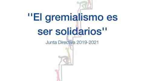 """""""EL GREMIALISMO ES SER SOLIDARIOS"""""""