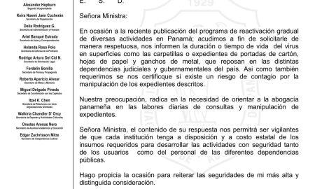 CONSULTA A LA  MINISTRA DE SALUD ROSARIO TURNER