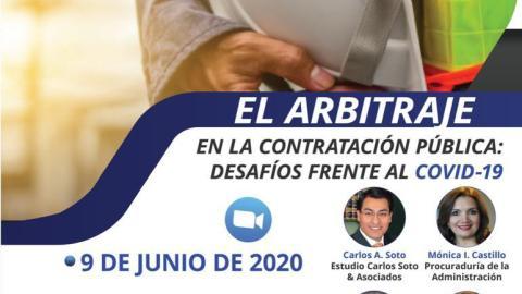 EL ARBITRAJE EN LA CONTRATACIÓN PÚBLICA: DESAFÍOS FRENTE AL COVID-19