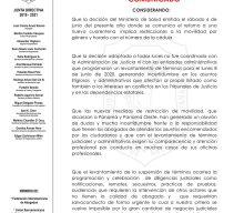COMUNICADO SUSPENSIÓN DE TÉRMINOS JUDICIALES Y ADMINISTRATIVOS