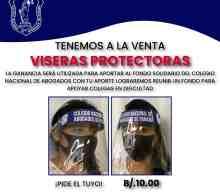 ¡VISERAS PROTECTORAS A LA VENTA!