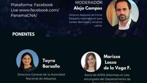 INVITACIÓN: COMERCIO ILÍCITO, VINCULO CON EL LAVADO DE DINERO E IMPACTO PARA PANAMÁ