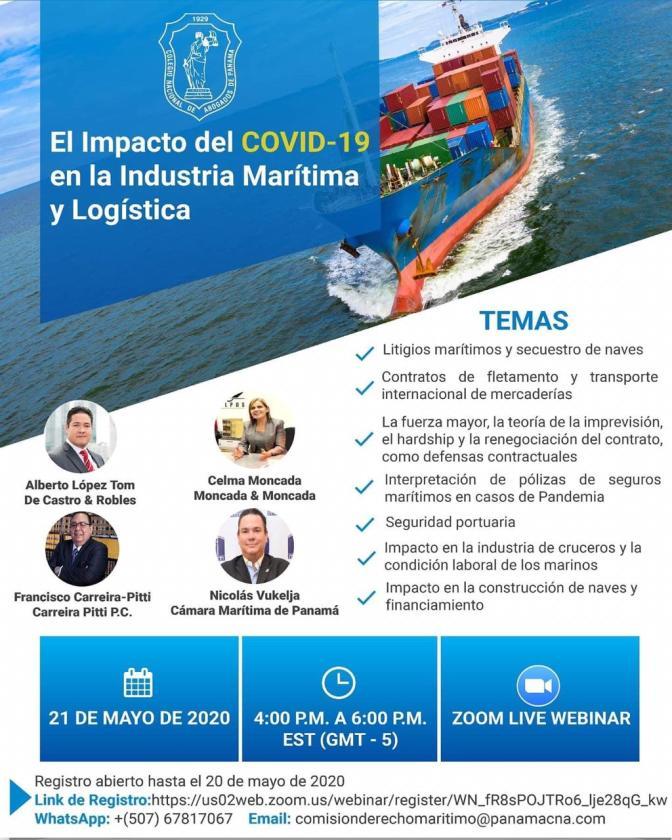 Impacto del Covid en la industria maritima