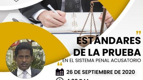 ESTANDARES DE LA PRUEBA EN EL SISTEMA PENAL ACUSATORIO