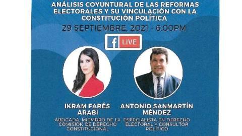 ANÁLISIS COYUNTURAL DE LAS REFORMAS ELECTORALES Y SU VINCULACIÓN CON LA CONSTITUCIÓN POLÍTICA